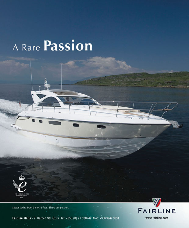 FL Yachting Full Page Advert