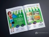 Chain Supermarket Double Page Spread Advert