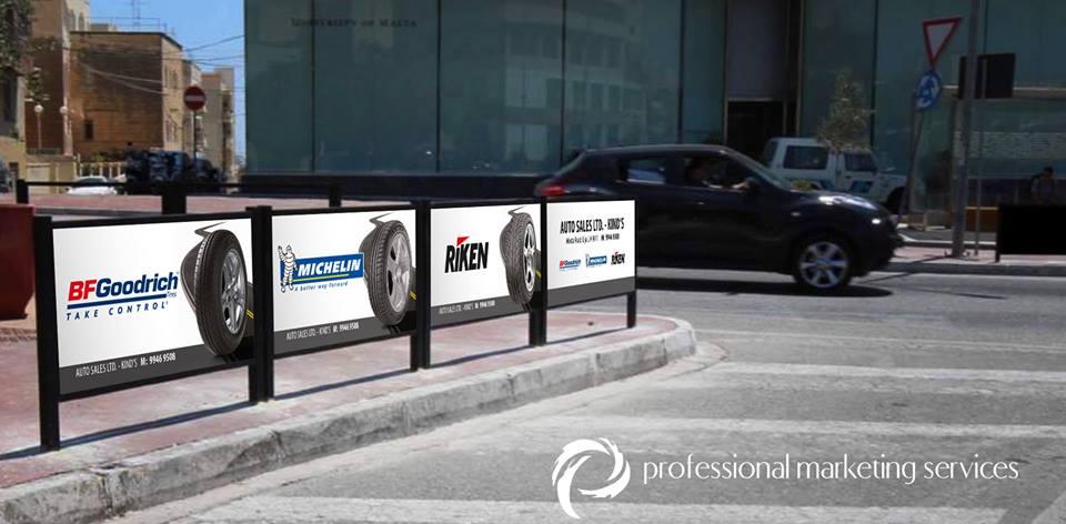 Auto Sales Ltd. - Kinds Street Signs x4