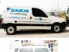 MA & A Daikin Van Signage